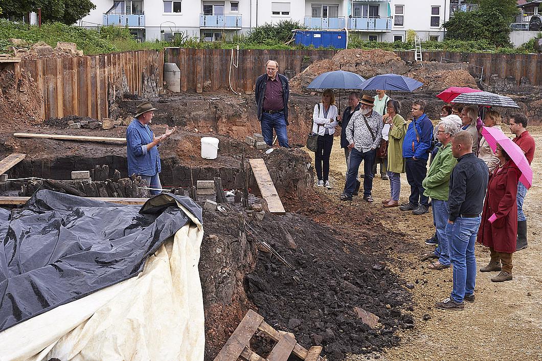 Erlebte Geschichtsstunde – Ausgrabungsstätte Langebrückenstraße