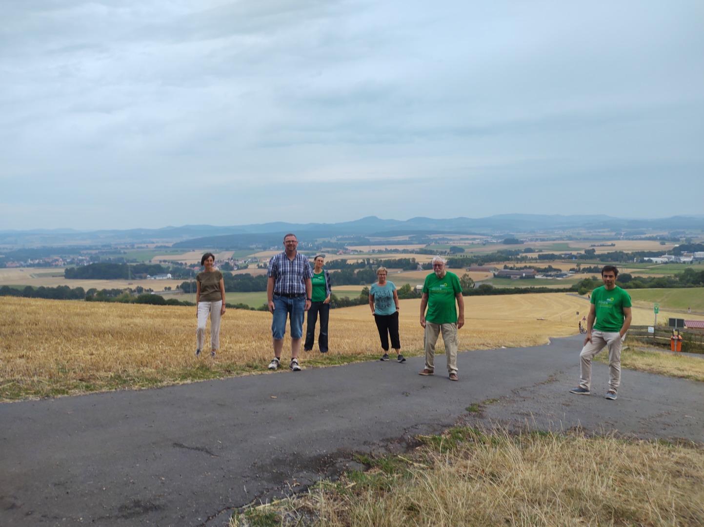 Treffen der Grünen Petersberg am 13.08.20