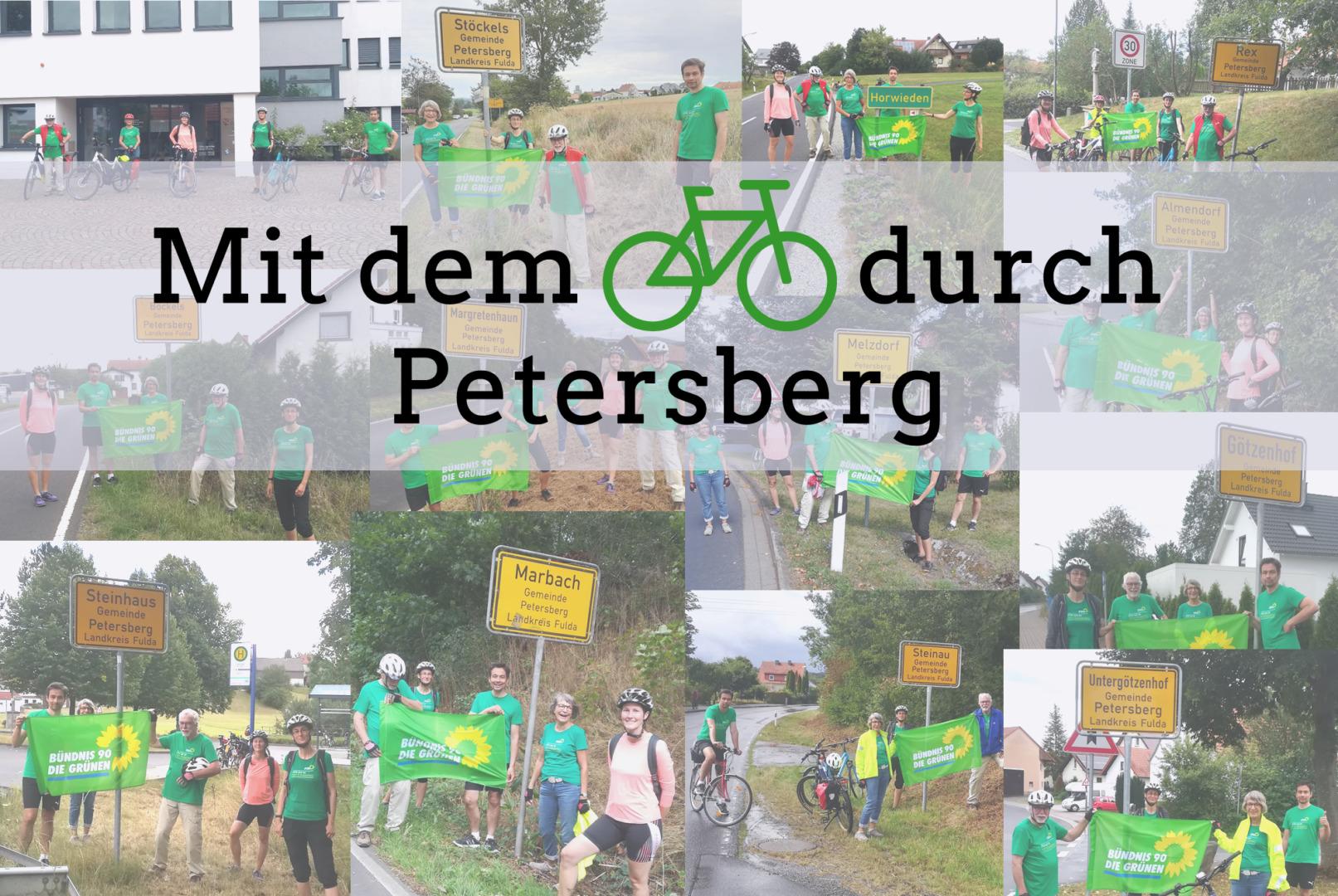 Mit dem Rad durch Petersberg