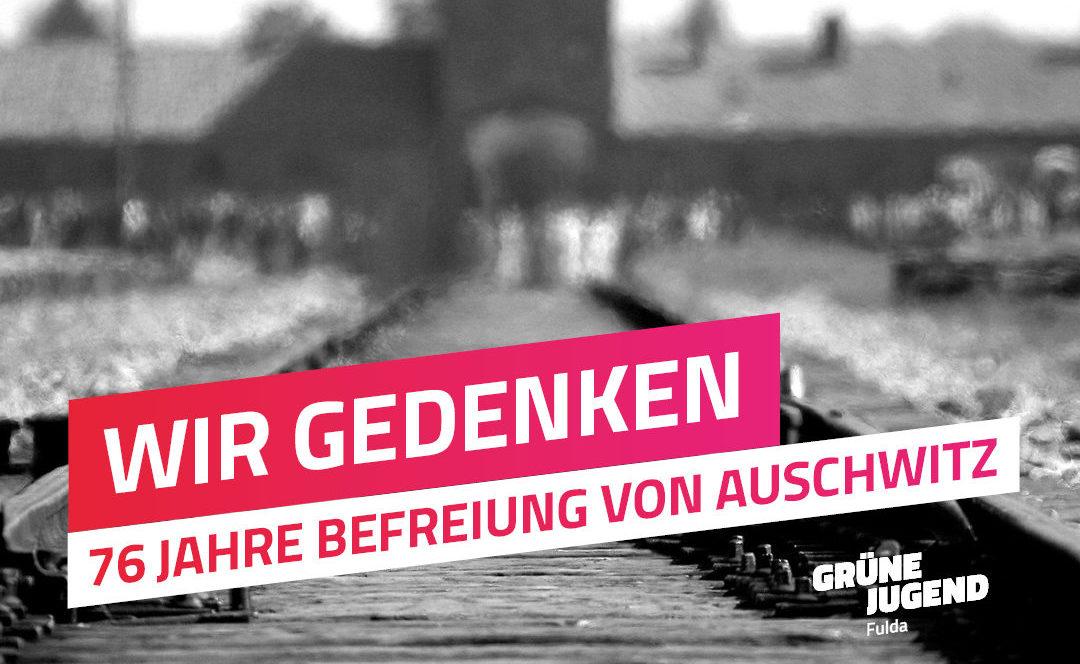 76 Jahre Befreiung von Auschwitz