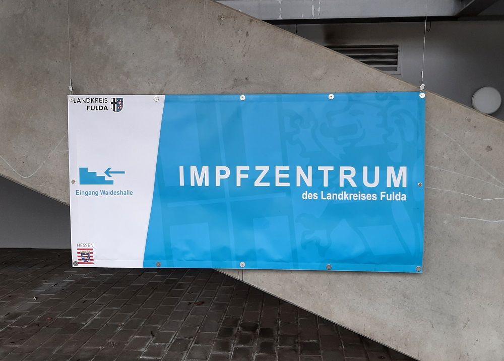 Besuch im Regionalen Impfzentrum Fulda