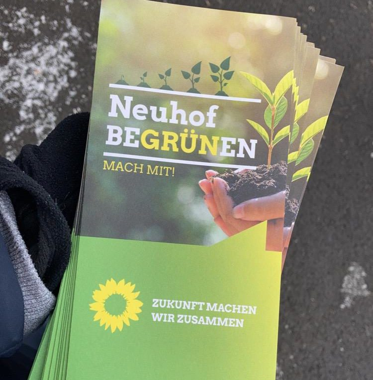 Neuhöfer Grüne starten Wahlkampf