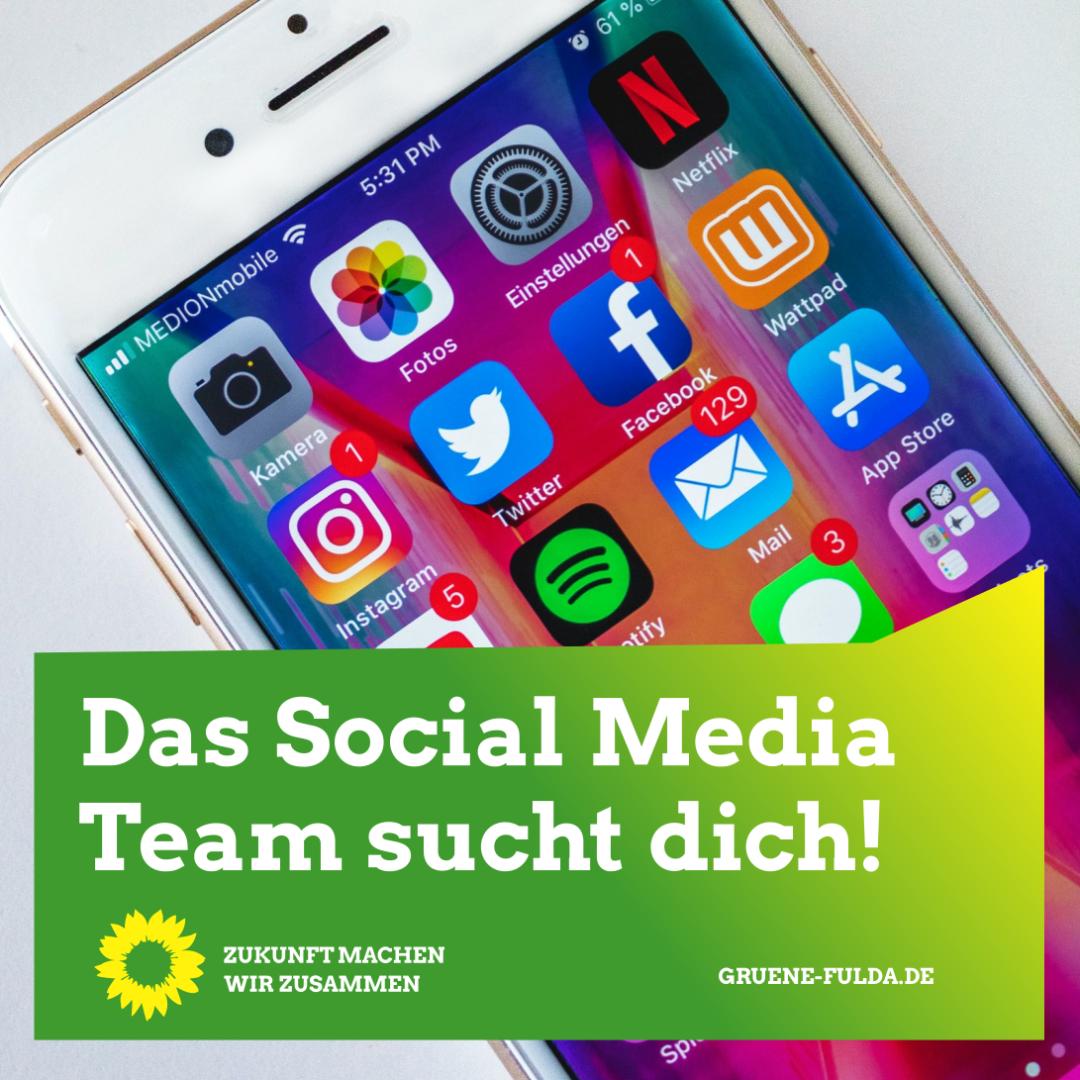 Social Media Team sucht Verstärkung