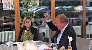 Podiumsdiskussion: Die Rente bleibt sicher? Wir sagen wie