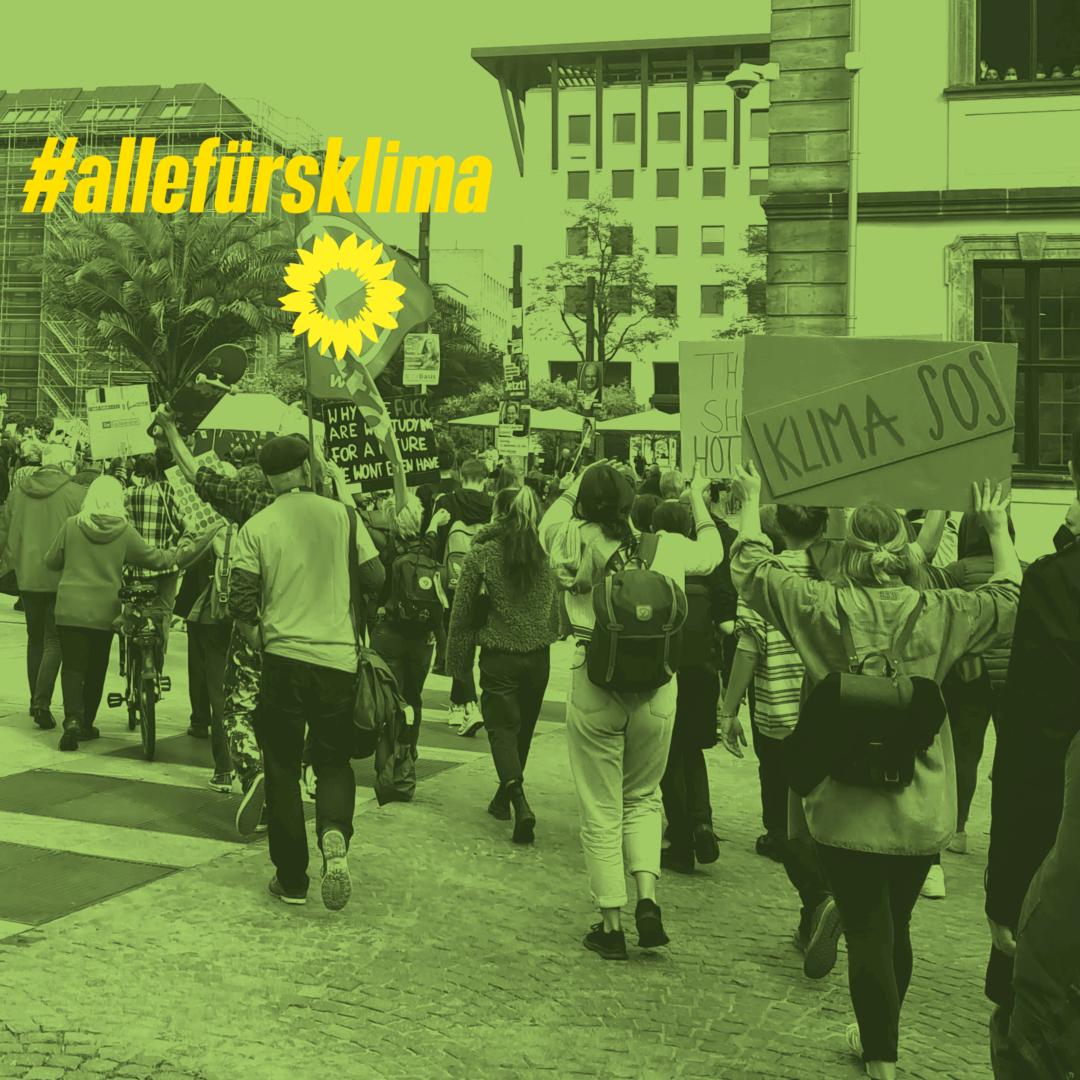 OV Flieden beim globalen Klimastreik in Fulda und Stralsund