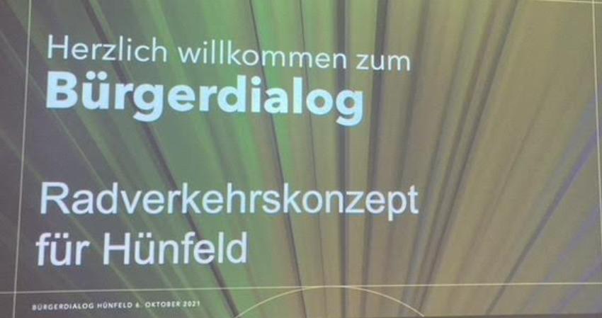 Positive Bilanz des Grünen Bürgerdialogs zum Radverkehrskonzept